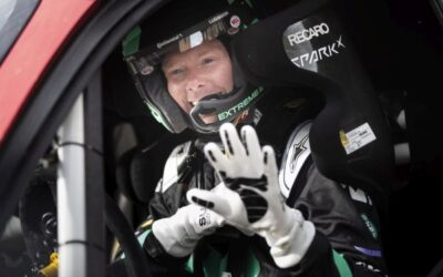 Patrik Sandell, member of Extreme E Drivers' Programme quotes after test