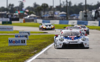 Porsche GT Team goes out in style with Sebring 1-2