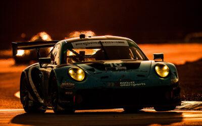 Wright Porsche Wins GTD Race With Broken Shock