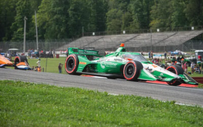 Colton Herta wins from pole at Mid-Ohio, leading Andretti's first podium sweep since 2005